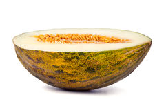 Half a honeydew melon Stock Image