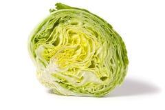 Half iceberg lettuce stock photo