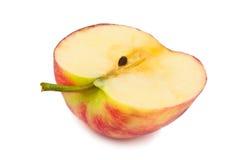 Half an juicy apple Stock Image