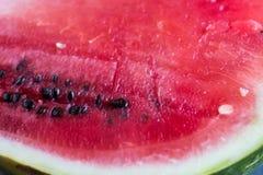 Half of juicy watermelon Stock Image