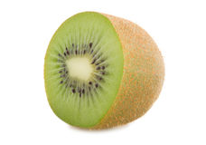 A half of kiwi Stock Photo