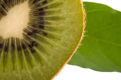 Half kiwi Royalty Free Stock Images