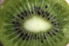 Half of kiwi fruit closeup royalty free stock photos