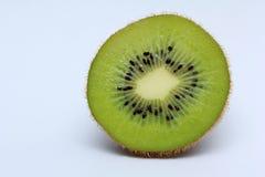 Half of kiwi fruit isolated on white background Stock Photography