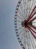 Empty cabins wheel the viewing wheel royalty free stock image