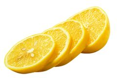 Half of lemon Stock Photo