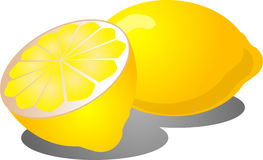 Half lemon Stock Photos