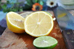 Half of lemon Royalty Free Stock Image