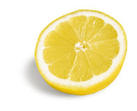 Half lemon fruit Stock Images
