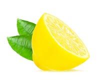 Half a lemon Stock Images