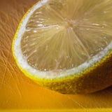 Half lemon Stock Photo