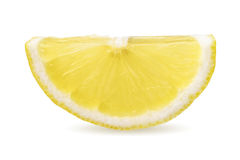 Half of lemon slice Stock Photos