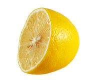 Half a lemon Stock Photos