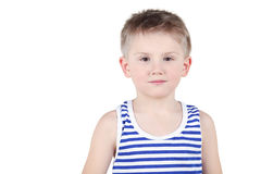 Half-length portrait of boy Stock Photos