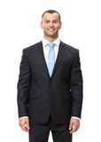 Half-length portrait of business man Stock Photos