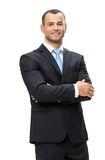Half-length portrait of manager with hands crossed Royalty Free Stock Photos