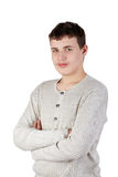 Half-length portrait of the teenager Royalty Free Stock Photo