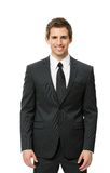 Half-length portrait of white collar Royalty Free Stock Photography