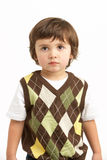 Half Length Portrait Of Young Boy Royalty Free Stock Photography