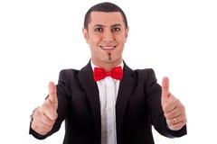Half length of successful business man Royalty Free Stock Photos