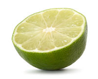 Half Lime Royalty Free Stock Photos