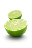 Half of lime royalty free stock photography