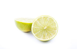 Half lime Royalty Free Stock Photo