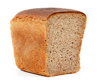 Half a loaf bread Stock Photos