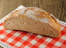 Half loaf of bread Stock Image