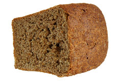 Half loaf of bread Stock Photo
