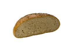 Half loaf of bread Royalty Free Stock Image