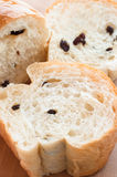 Half loaf of fresh bread. Royalty Free Stock Images