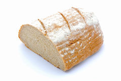 Half loaf rye bread Stock Photography