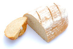 Half loaf rye bread Royalty Free Stock Images