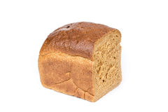Half a loaf of rye bread Royalty Free Stock Photography