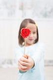 Half lollipop Stock Image