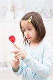 Half lollipop Stock Photography