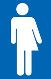 Transgender symbol. A human gender symbol illustrating combined gender in one person, gender duality or transexuality Stock Image