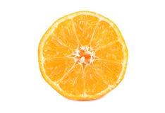 Half of mandarin Stock Photos