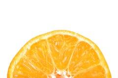 Half of mandarin Royalty Free Stock Image