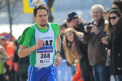 Half marathon in Prague 2015 - Dalibor Bartos Royalty Free Stock Images