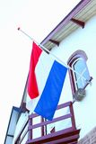 Half mast Dutch flag, Netherlands Royalty Free Stock Photography