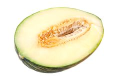 Half a melon Royalty Free Stock Images