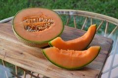 half melon Fotografering för Bildbyråer