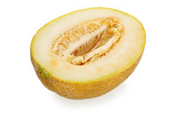 Half a melon Stock Images