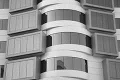 Half of modern architecture Royalty Free Stock Images