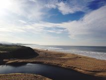 Half Moon Bay Royalty Free Stock Images