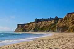 Half Moon Bay California Immagine Stock Libera da Diritti
