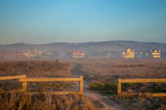 Half moon bay, California Royalty Free Stock Photo