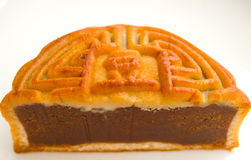 Half moon cake Stock Photo